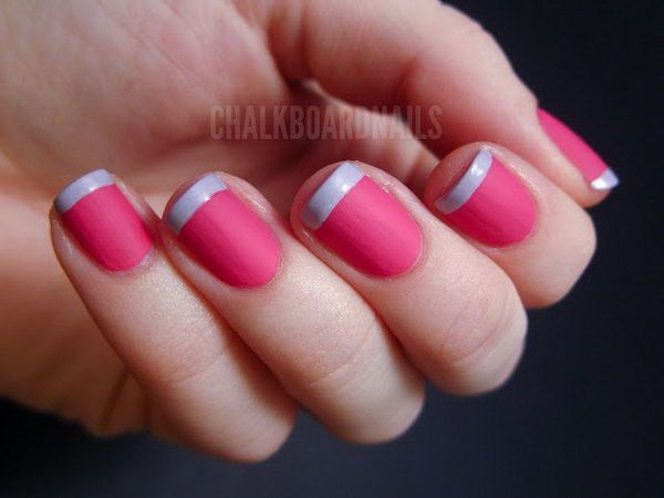 Nail Designs for Spring French Tips with pictures - Nail Designs For Spring French Tips With Pictures Nice Nail Designs