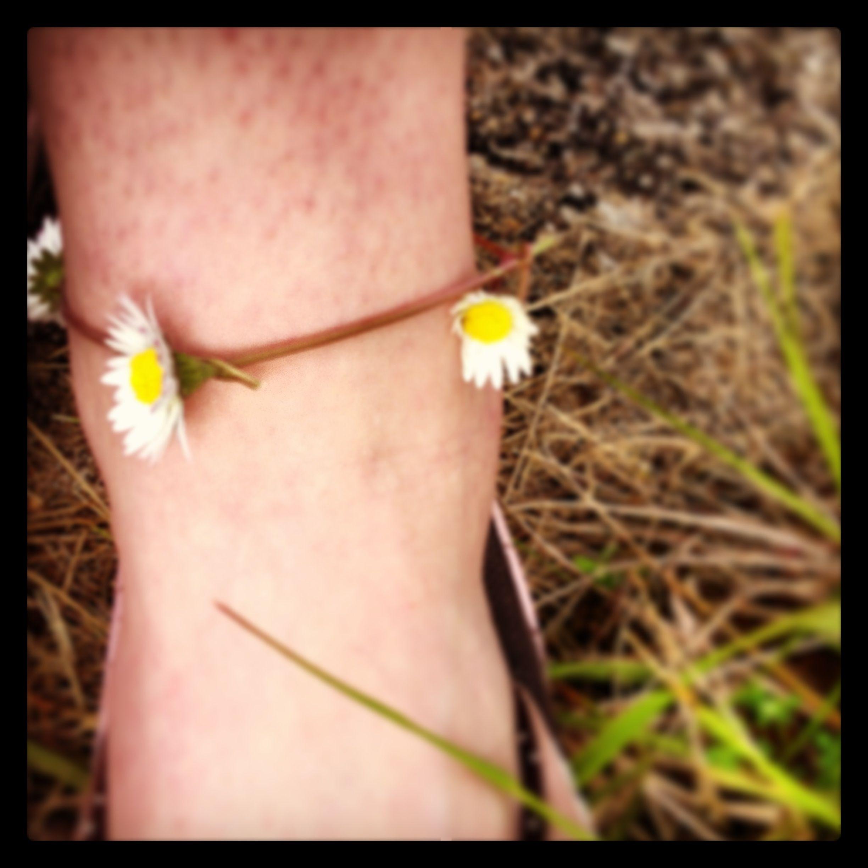 Daisy ankle bracelet x