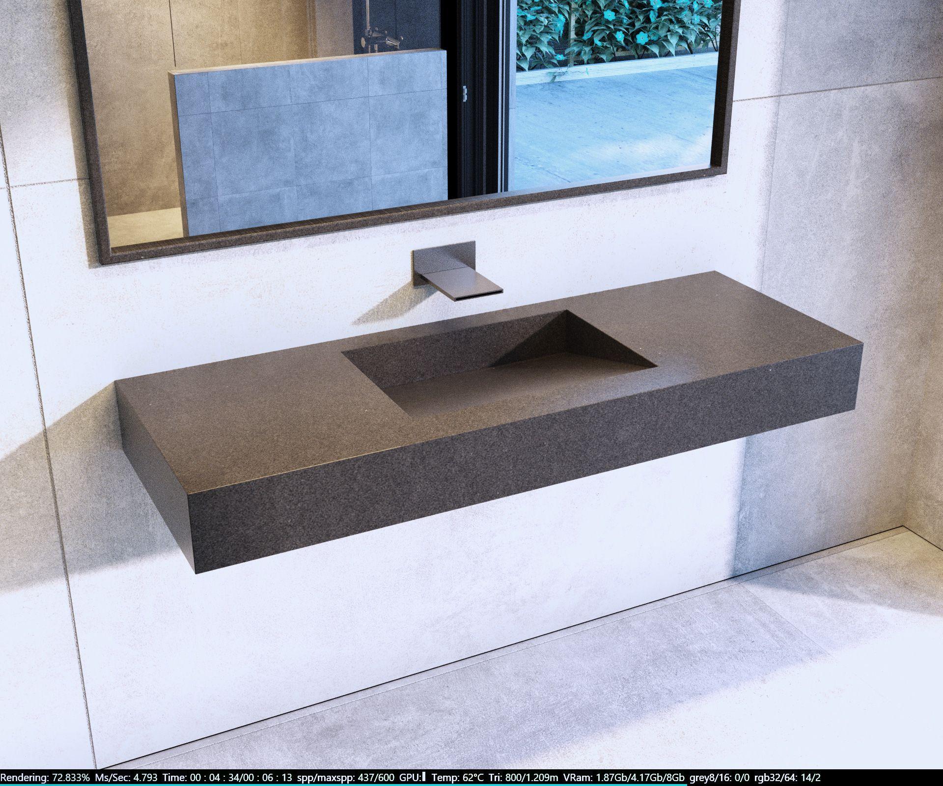 Plan De Travail Granit Ou Quartz le quartz étant aussi résistant que le granit. son design ne