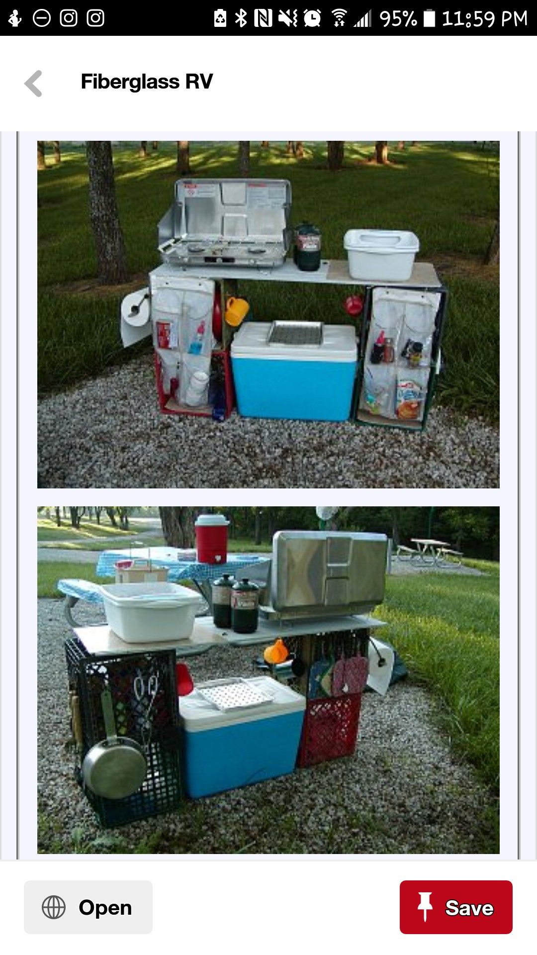 Camp Kitchen Setup Probably Not Like This Though Because Of The Raccoons E Erywhere Camping Kitchen Set Up Camping Kitchen Set Camping Set Up
