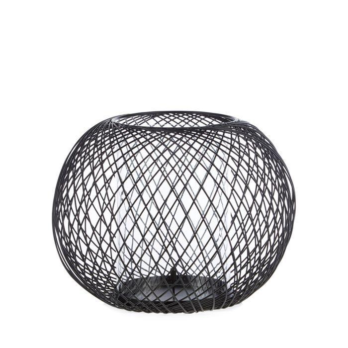 c21d4d9bca Betty Jackson.Black Designer black wire ball candle holder ...