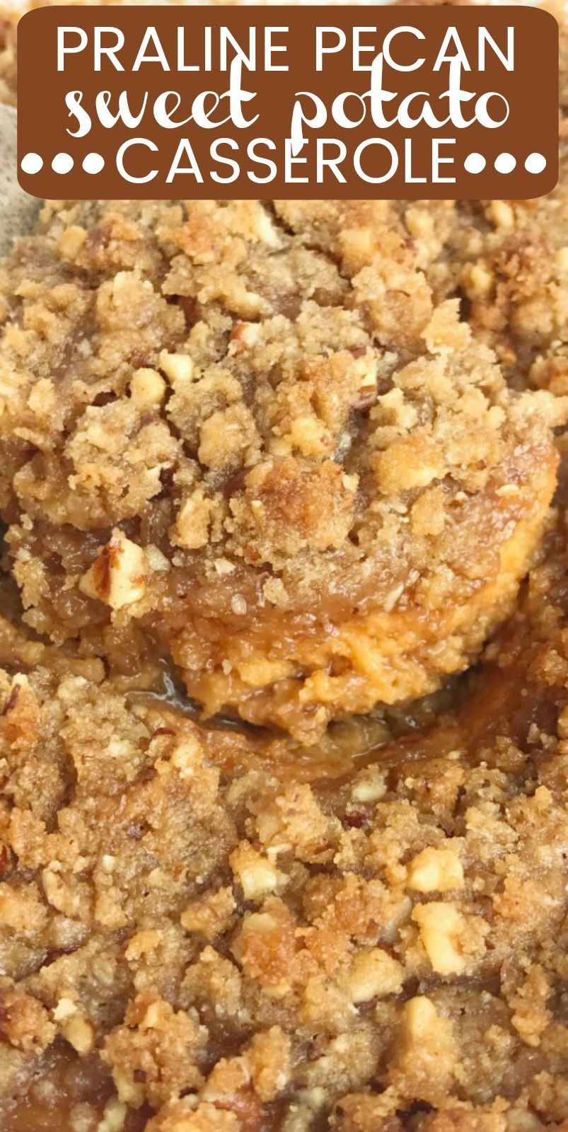 Praline Sweet Potato Casserole | Together as Family