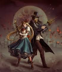Image result for steampunk art girl