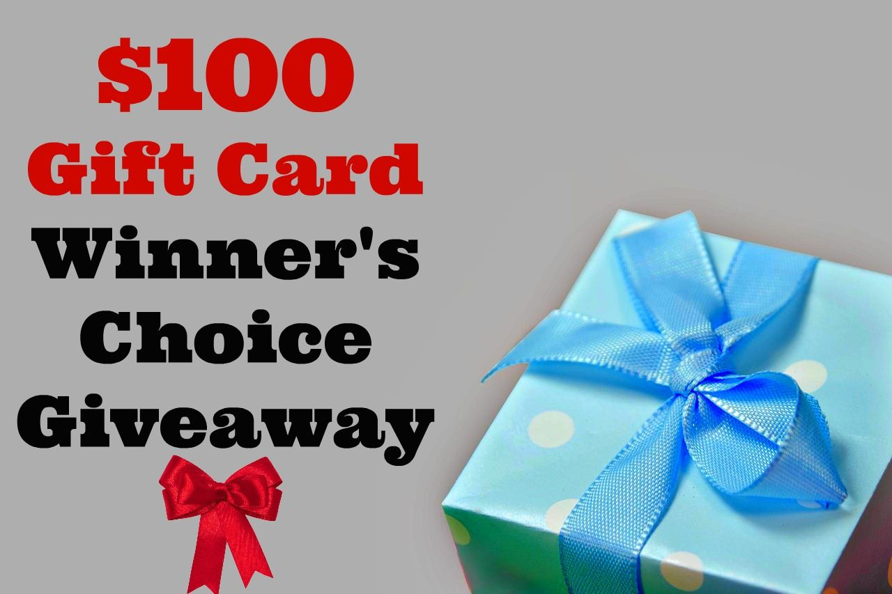 $100 giftcard giveaway! Going through 1/24/15!