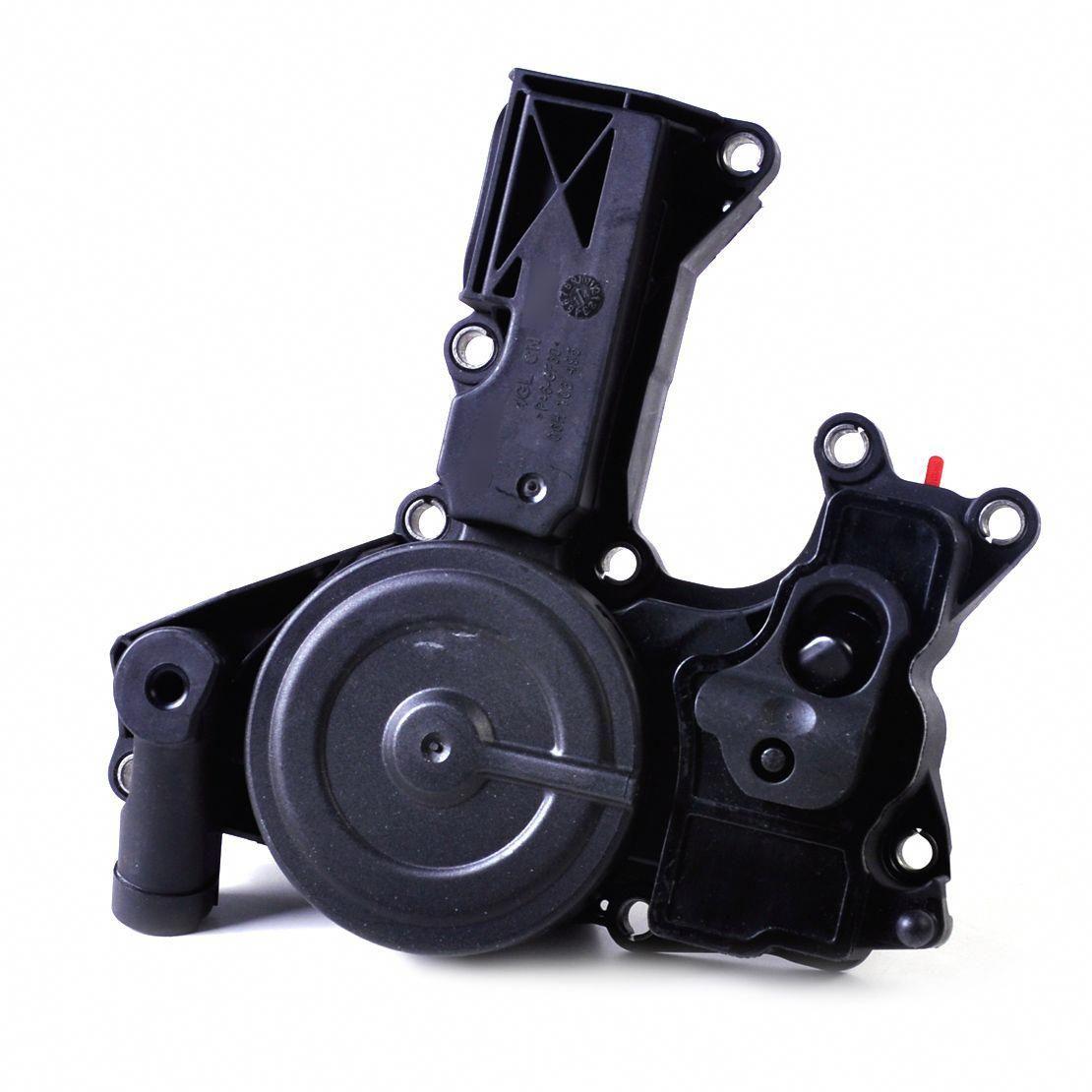 New 1pc Black Oil Separator Pcv Valve Assembly Fit 06h 103 495 B For Audi A3 Tt A4 A5 Quattro Q5 For Vw Tiguan Cc Golf Gti Jetta V Volkswagen Audi