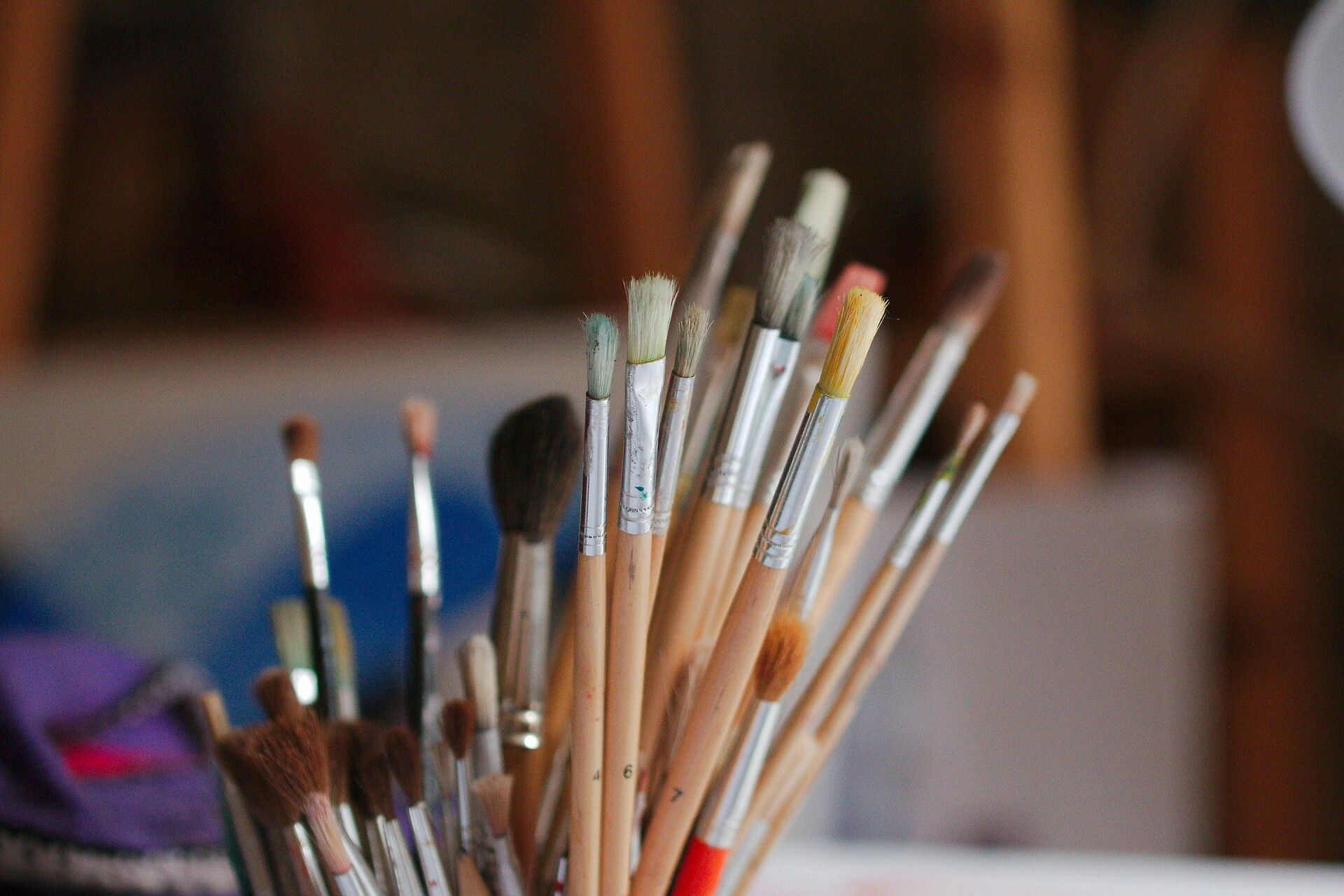Painting (With images) Oil paint brushes, Paint thinner