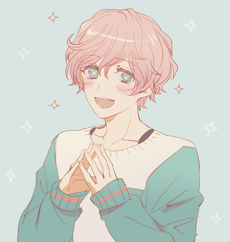 Pastel Aesthetic Anime Boy