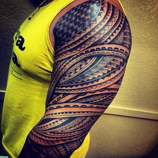 polynesische tattoos part 01 tattoo ideen tattoo. Black Bedroom Furniture Sets. Home Design Ideas