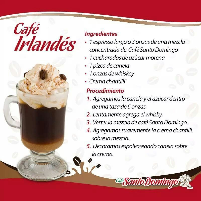 Cafe Santo Domingo En 2020 Recetas Fáciles De Comida