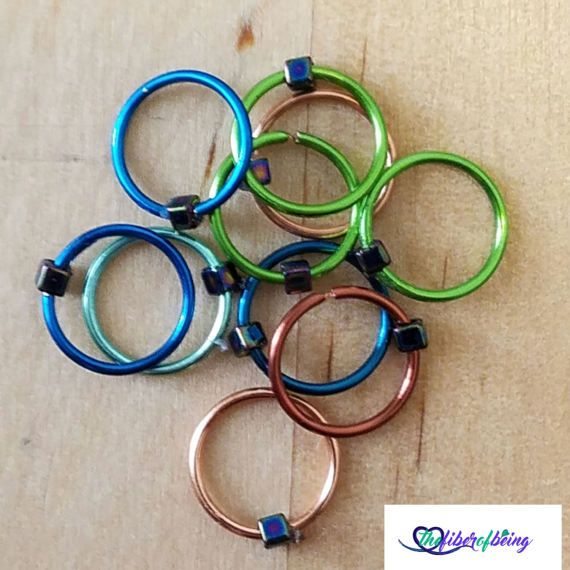 Check out this item in my Etsy shop https://www.etsy.com/listing/519570679/ring-knitting-stitch-markers-knitters