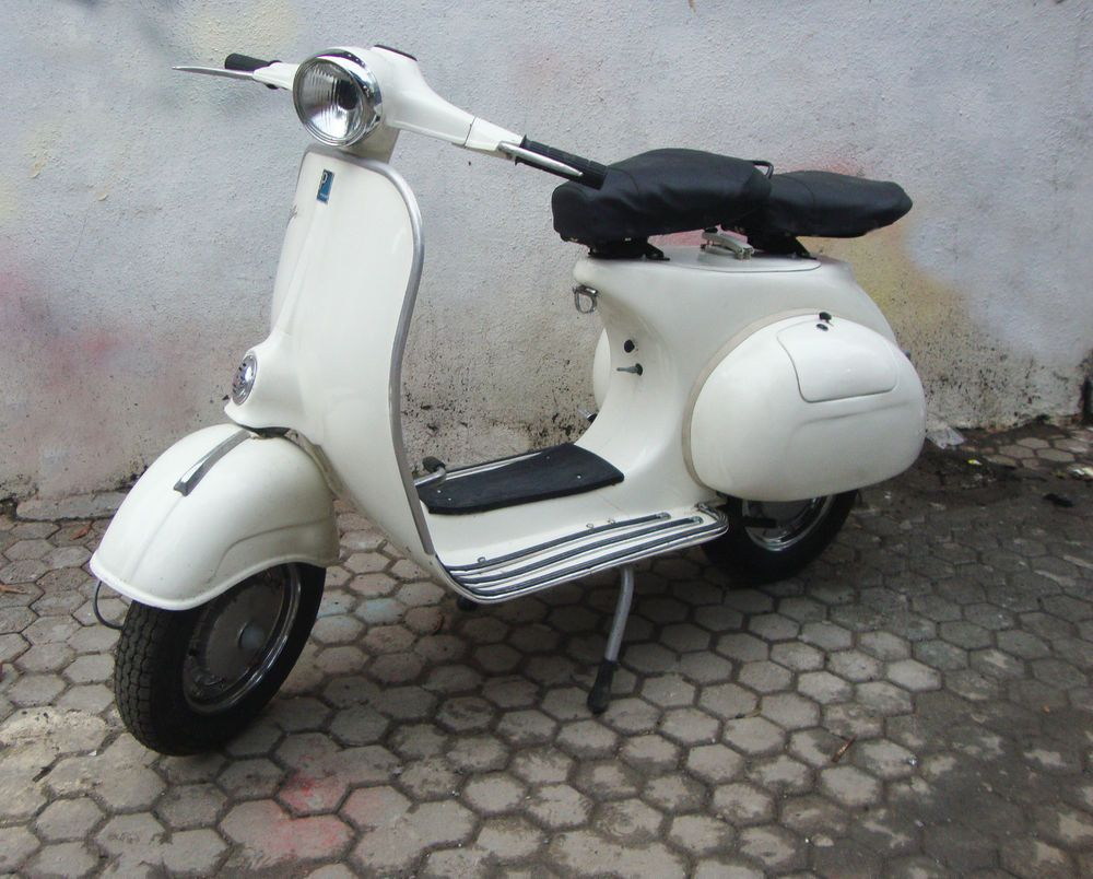 1964 bajaj vespa scooter same as italian vbb vintage vba. Black Bedroom Furniture Sets. Home Design Ideas