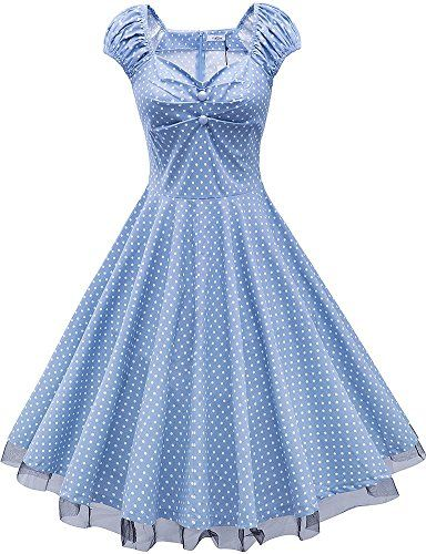 Jiuzhoudeal Women's 1950s Vintage Retro Rockabilly Lace Swing Party Dress (Medium, Light Blue Polka Dot) Jiuzhoudeal http://www.amazon.com/dp/B017Y11CK4/ref=cm_sw_r_pi_dp_KYfOwb0BPZ41J