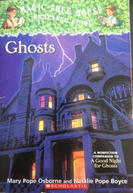 "10/$15 Magic Tree House Research Guide ""Ghosts"""