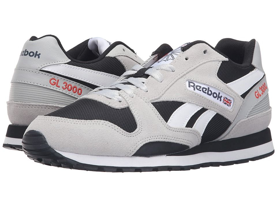 b8dec41307d8 REEBOK REEBOK - GL 3000 (SKULL GREY BLACK BLUE INK RIOT RED WHITE) MEN S  CLASSIC SHOES.  reebok  shoes