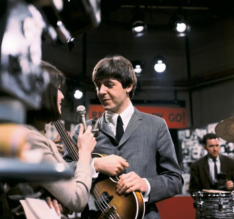"March 20, 1964 The Beatles Appeared on ITV's Disc Programme ""Ready, Steady, Go"""