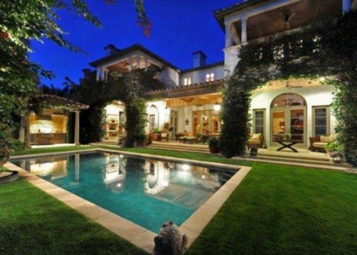 Stupendous Custom Mediterranean Style Home For Sale In Jupiter Florida Inspirational Interior Design Netriciaus