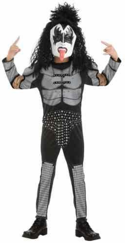 The Demon Costume Baby KISS Rock Star Gene Simmons Halloween Fancy Dress