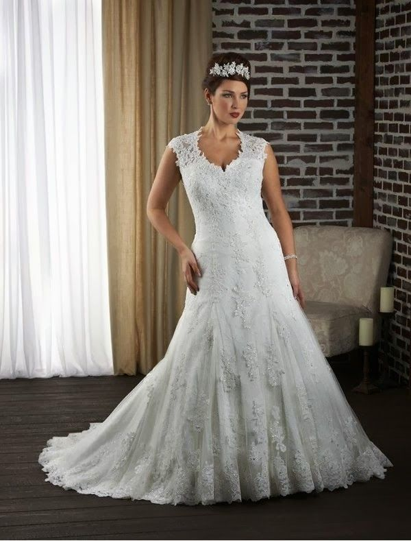 Plus Size Wedding Dresses 2017 Tulle And Lace Strapless Dress With Beaded