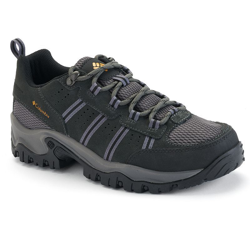 newest 3f871 8082d Columbia Grants Pass Men s Waterproof Hiking Shoes, Dark Grey