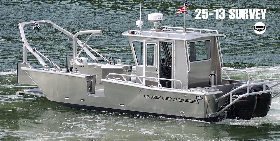 Survey Boats For Sale Research Survey Boats Munson Aluminum