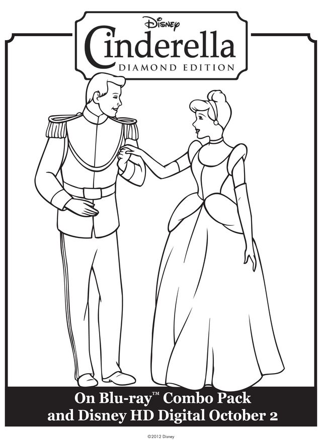 Character Coloring And Activity Pages Coloring Pages Cinderella