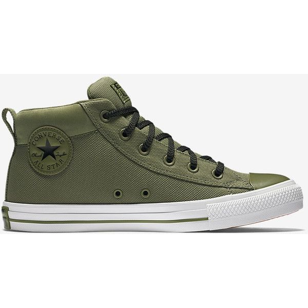 Converse Chuck Taylor All Star Street Mid Top Unisex Shoe. Nike.com ( 65) ❤  liked on Polyvore featuring shoes 74e05a6b85
