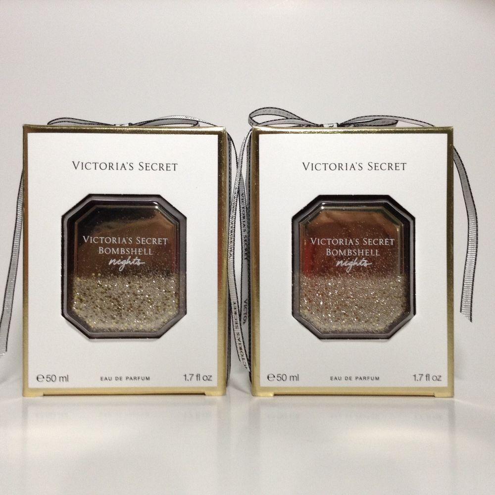 4a9c1c16a8e 2 Victoria s Secret BOMBSHELL NIGHTS Eau De Parfum Perfume 1.7oz Winter  Edition!  VictoriasSecret