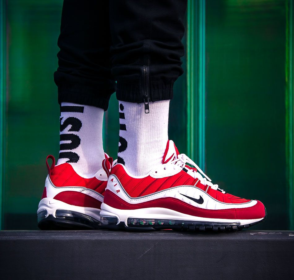 nike air max 98 womens gym red