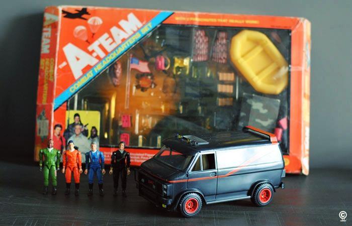 Van The A Team Galoob 1983 The A Team Combat Headquarters Set Galoob 1983 Jouet Jouets Anciens Enfance