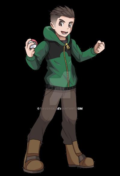 Pokemon Trainer Allan Fullbody By Ravenide On Deviantart Pokemon Oc Pokemon Human Characters Pokemon