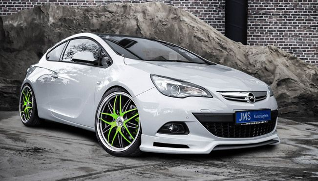 Jms Opel Astra J Gtc Coupe Shows Exclusive Styling Top Cars