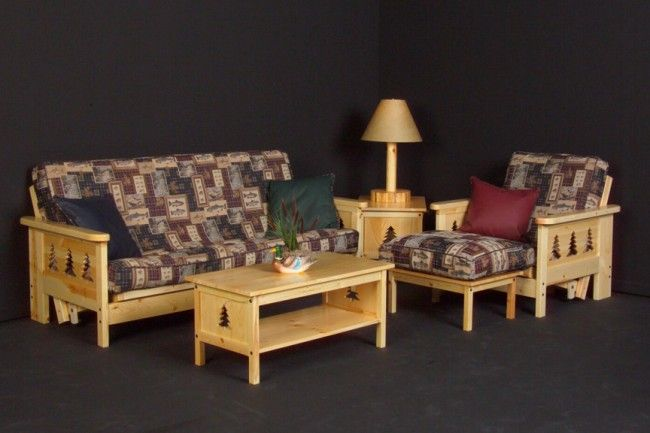 northern frame futon exposure rustic frames