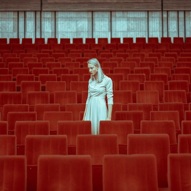 Minimal Surreal Portraits By Maria Svarbova   iGNANT.de