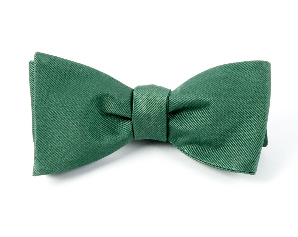 Grosgrain Solid Hookers Green Bow Tie Green Bow Tie Green Bows Grosgrain