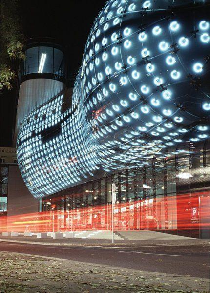 Graz Grazer Kunsthaus Mimari