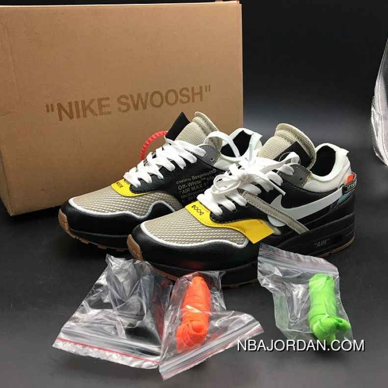 803f6aaa536b3f Men Air Max 1 Virgil Abloh Bespokeind Off-White Virgilabloh SKU 429435-264