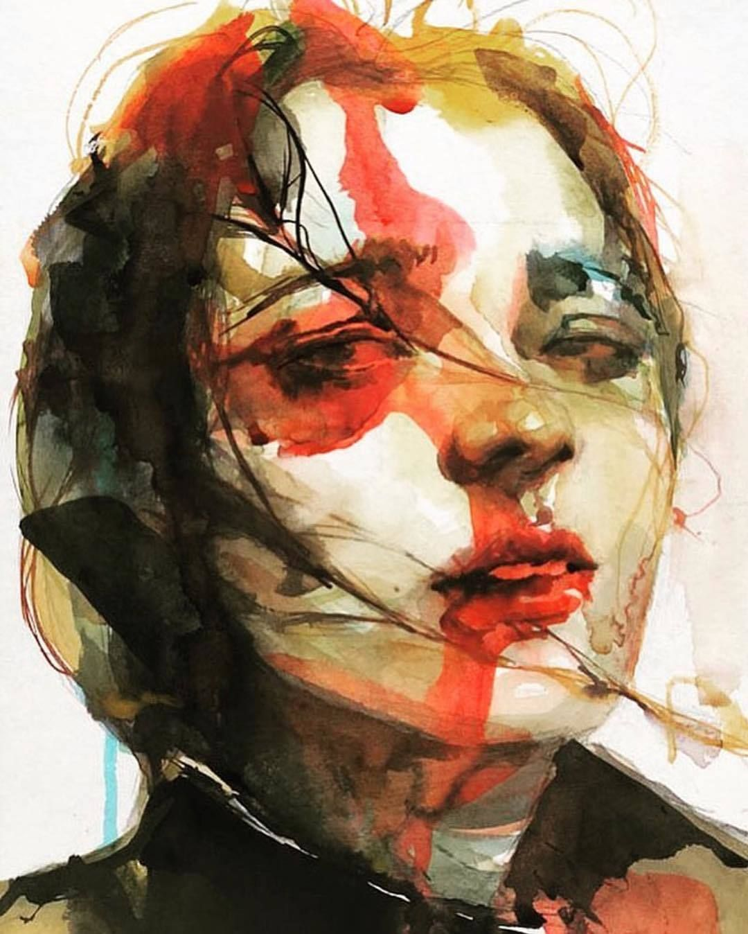 By Ko Byung Jun Painting Portrait Art Art Reference Photos
