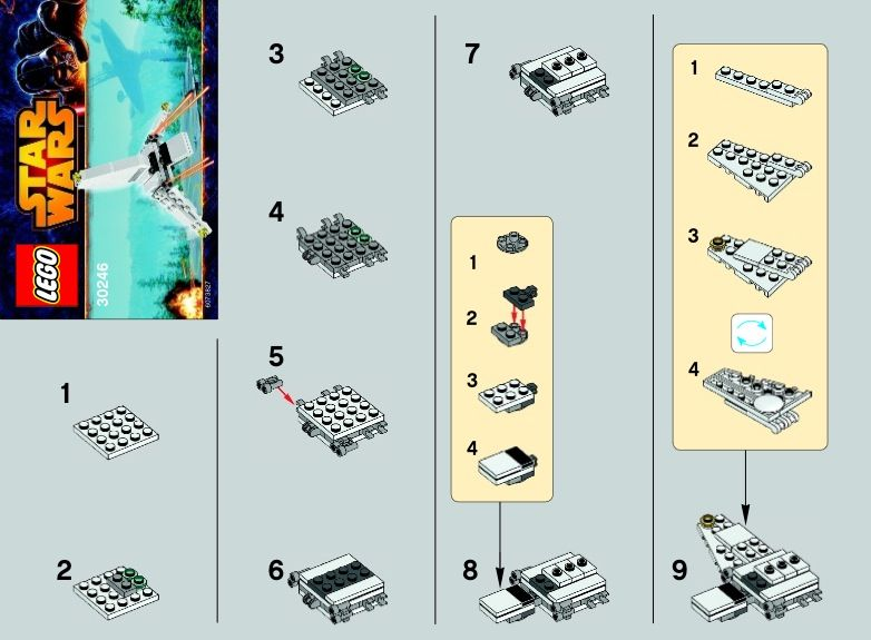 Lego Star Wars Instructions, Childrens toys | Legos | Pinterest ...