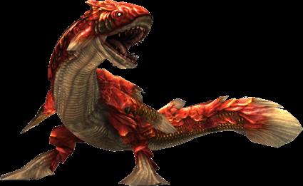 "Monster Hunter ""Lavasioth Sub-species"""