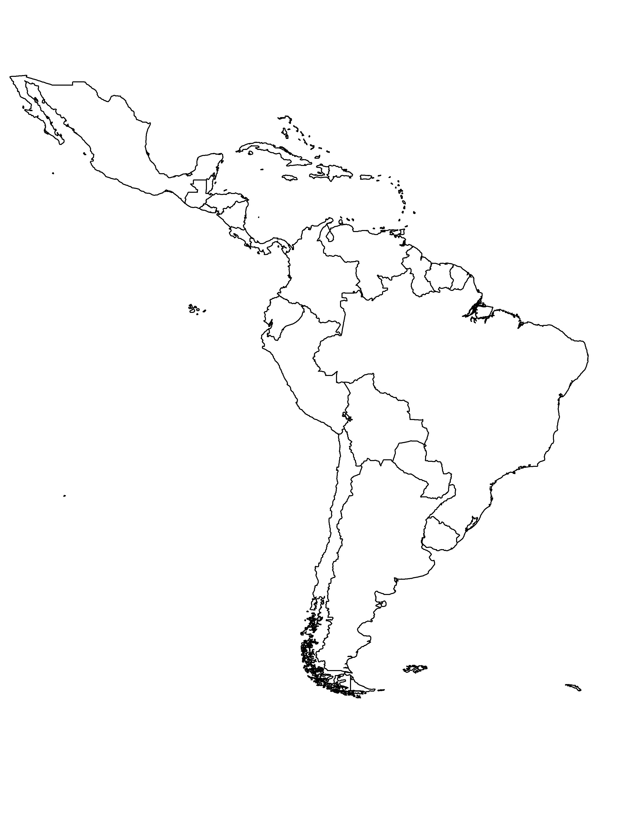 Pin By Personalized Experts On Places To Visit World Map Coloring Page Color World Map Latin America Map