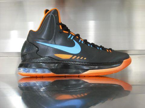 kevin durant shoes 2013 kd v black photo blue hot kicks