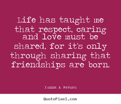 Quotes about caring friends