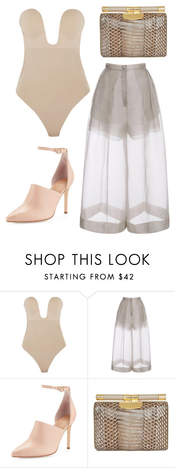 """""""#1"""" by megmctaggart1995 ❤ liked on Polyvore featuring Fashion Forms, Delpozo, Halston Heritage and Tyler Alexandra"""