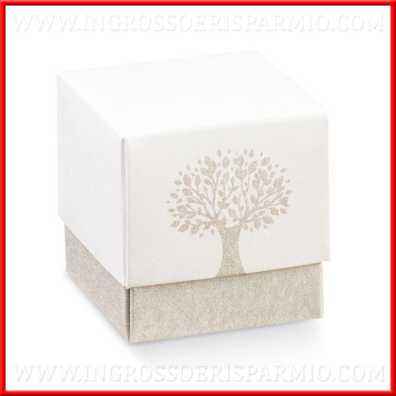 Scatole Per Confetti Cartoncino Albero Della Vita Fai Da Te Ingrosso E Risparmio Nel 2020 Scatole Cartoncini Fai Da Te