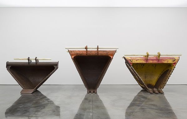 "Cyprien Gaillard, ""Today Diggers, Tomorrow Dickens"" at Gladstone Gallery, New York, 2013"