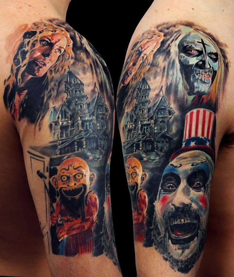 Rob Zombie Zombie tattoos