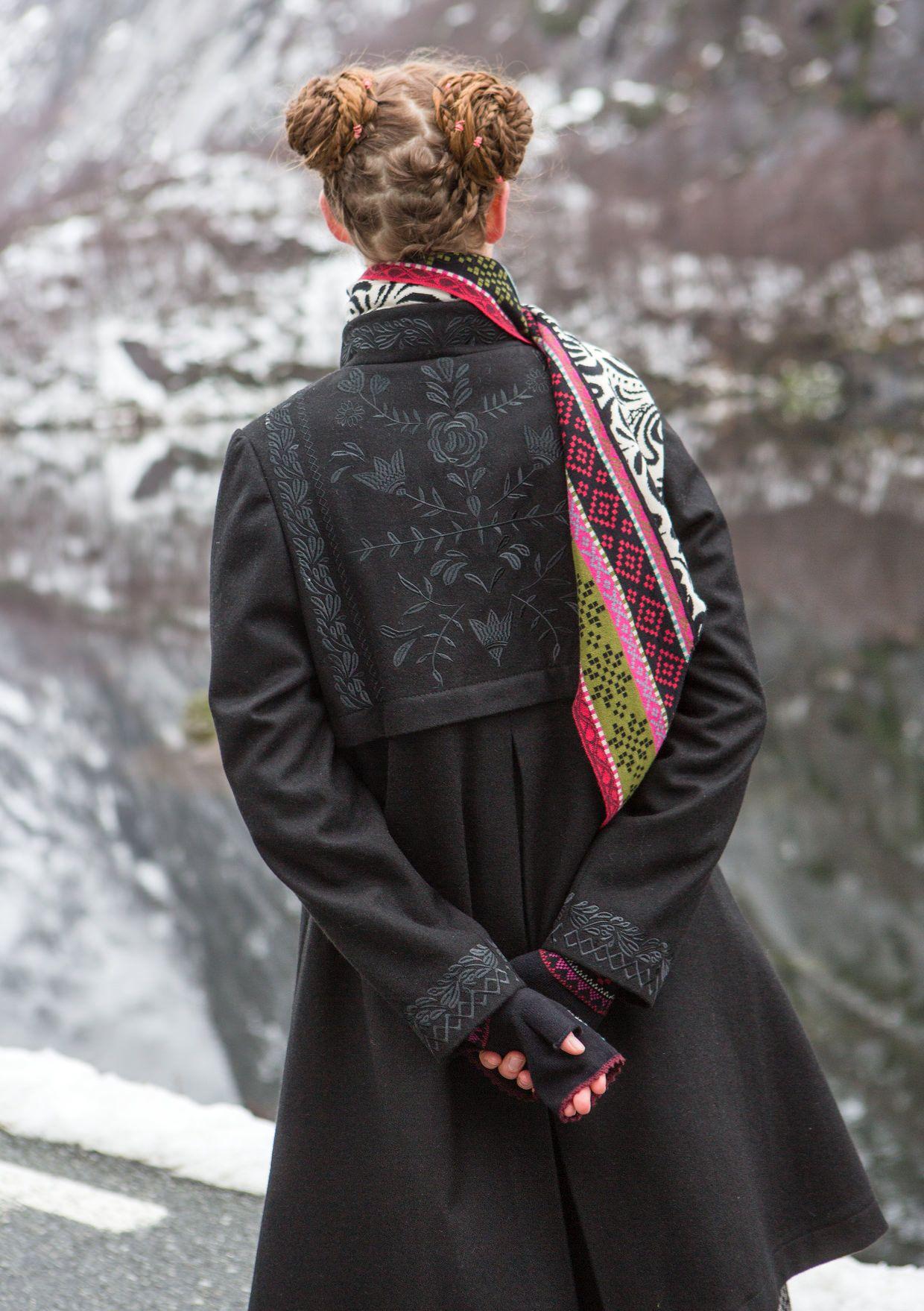 """Oda"" coat in wool – Norway – GUDRUN SJÖDÉN – Webshop"