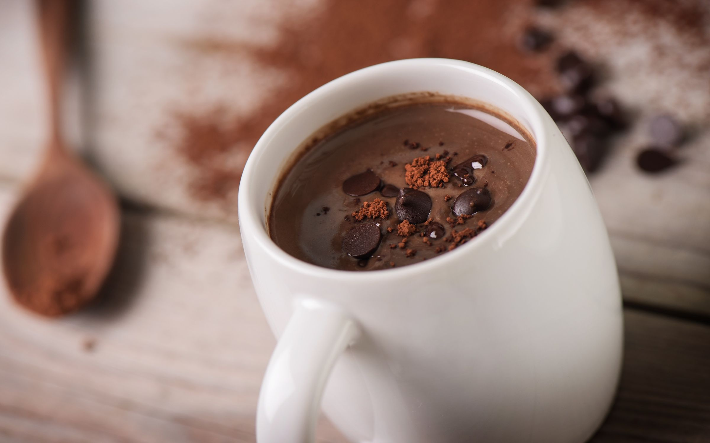 Homemade Hot Chocolate | Dr. Livingood | Hot chocolate, Homemade hot  chocolate, Chocolate healthiest drinks in the world