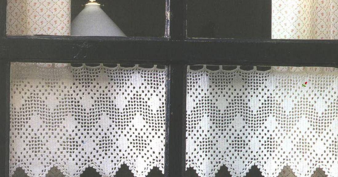 Cenefas filet con gran poder romántico en su diseño