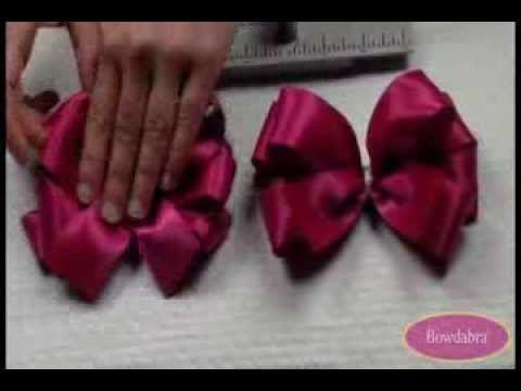 How to Make a Large Loopy Bowdabra Hair Bow - super easy hair bow tutorial